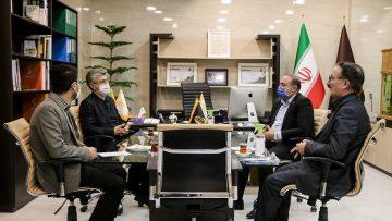 بازدید و دیدار صمیمانه سرکنسول ایران در ارزروم جمهوری ترکیه از مجتمع تجاری ایران زمین خوی