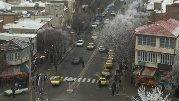 زمستان از بام ایران زمین خوی